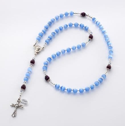 Child's Rosary Beads with Engraving