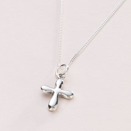 Christening Cross Necklace, Can be Personalised