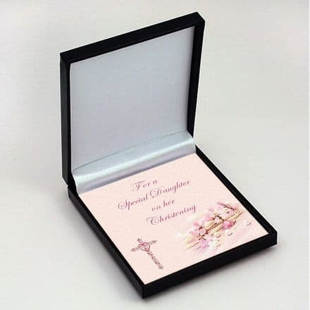 Christening Jewellery Gift Box with Card