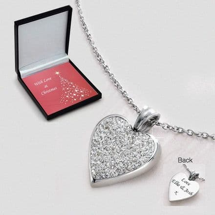 Christmas Necklace with Engraving