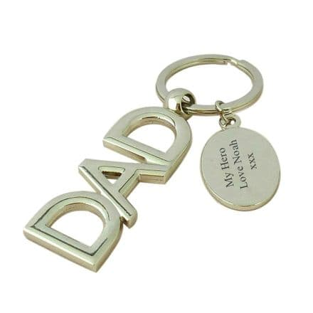 Dad Keyring with Engraving