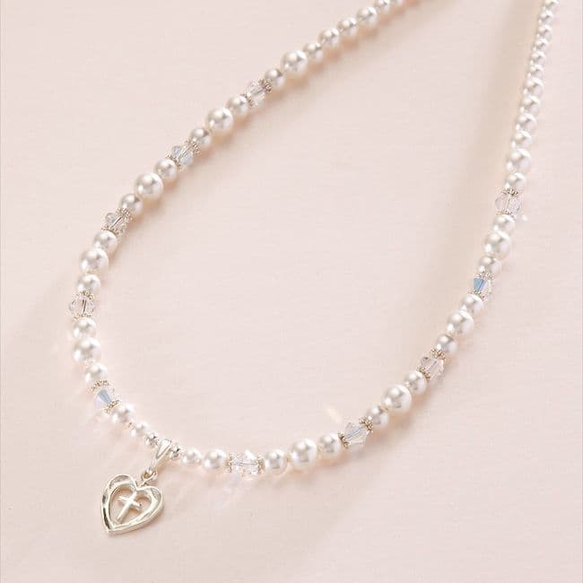 Faith Necklace for First Holy Communion | Jewels 4 Girls
