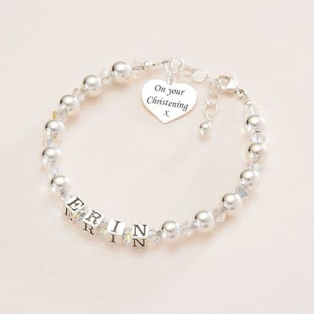 First Holy Communion or Christening Day Bracelet