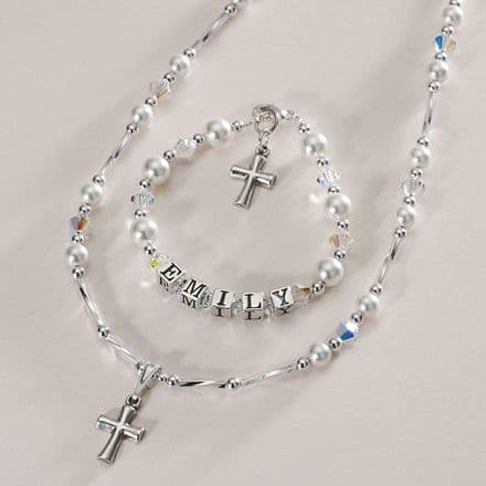 First Holy Communion Personalised Jewellery Set