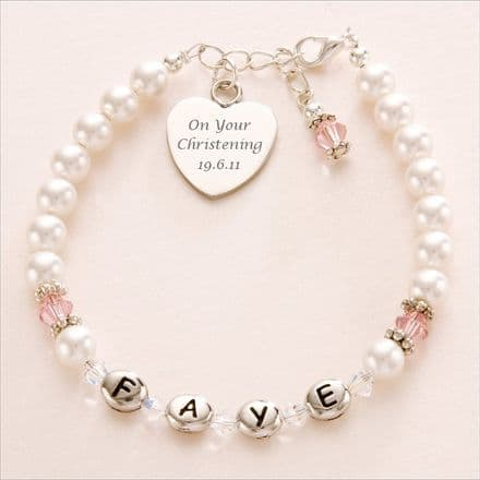 Girls Bracelets with Engraving