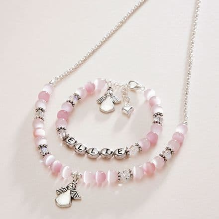 Girls Name Jewellery Set