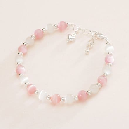 Girls Princess Cats Eye Bracelet