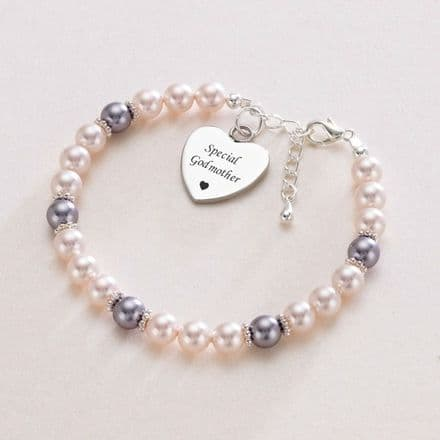 Godmother Bracelet with Personalised Engraving