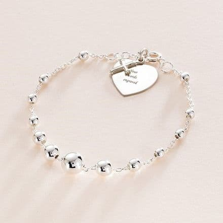 Holy Communion Charm Bracelet with Engraving