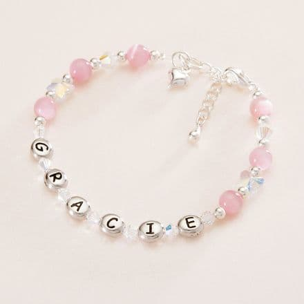 Name Bracelets - Rhodium