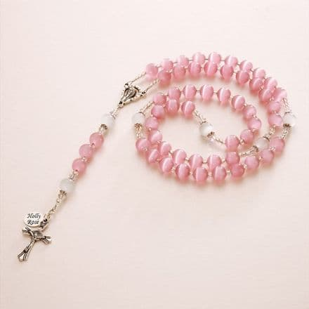 Personalised Cats Eye Rosary
