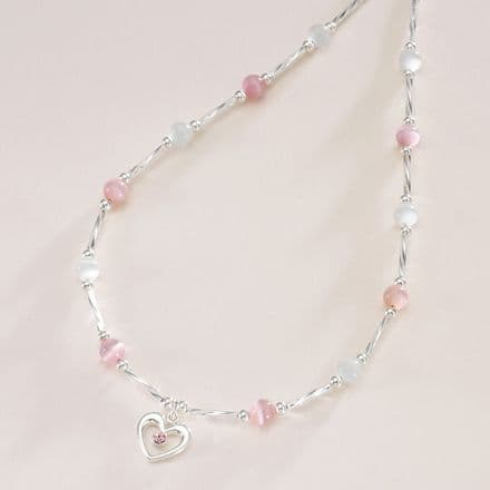 Princess Heart Girls Necklace