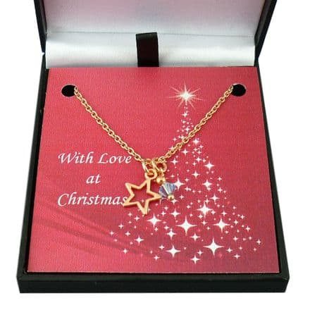 Rose Gold Christmas Jewellery