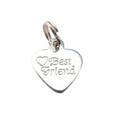 Silver Best Friend Tag