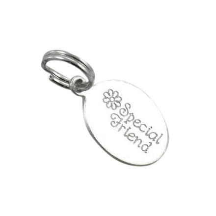 Special Friend Engraved Tag