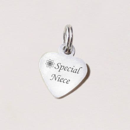 Special Niece Heart Tag
