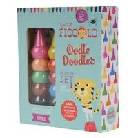 Piccolo Oodle Doodles Crayon Set - Animals