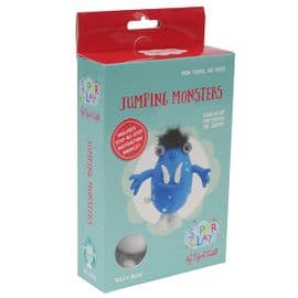 Super Clay Jumping Monster - Billy Blue