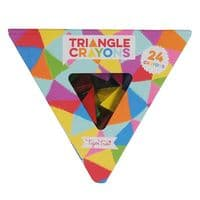 Triangle Crayons- 24 pack