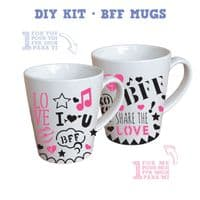 BmyBFF DIY Kits - Mugs