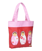 Large Canvas Tote - Babushka