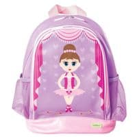 Large PVC Backpack - Ballet