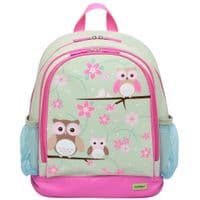 Large PVC Backpack - Owl
