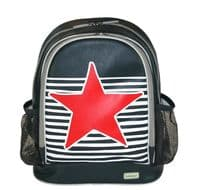 Large PVC Backpack - Star and Stripes