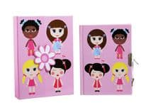 Packaged Diary - Paper Doll