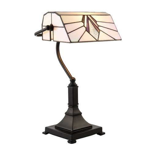 Endon Astoria Bankers Table 25w SW 70909 By Massive Lighting