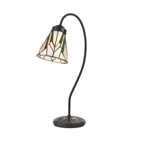 Endon Astoria Swan Neck Table 40w SW 74364 By Massive Lighting