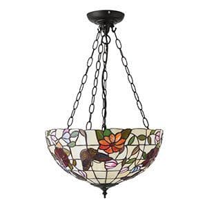 Endon Butterfly Inverted 3lt Pendant 60w 70745 By Massive Lighting