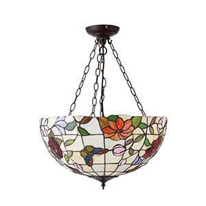 Endon Butterfly Large Inverted 3lt Pendant 60w 70746 By Massive Lighting