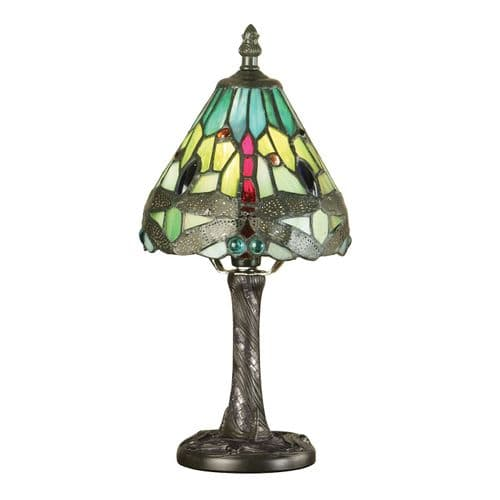 Endon Dragonfly Green Mini Table 40w SW 64099 By Massive Lighting