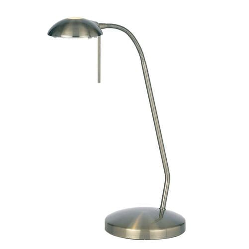 Endon Hackney Touch Table 33w SW 656-TL-AN By Massive Lighting