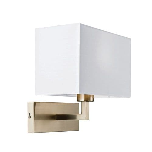 Endon Piccolo 1lt Wall 60w SW 61604 By Massive Lighting