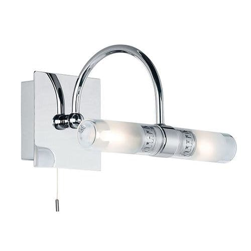 Endon Shore 2lt Wall IP44 33w SW 447 By Massive Lighting