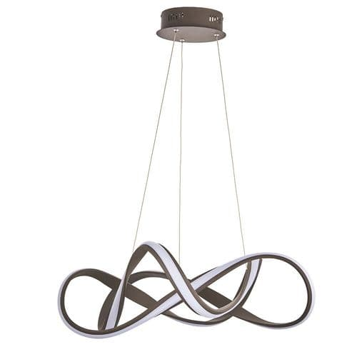 Endon Synergy Pendant 44w Warm White 90322 By Massive Lighting