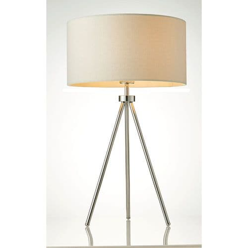 Endon Tri Table 40w SW 73144 By Massive Lighting