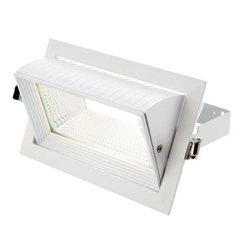 Saxby Axial Rectangular 35w Cool White 78542 By Massive Lighting