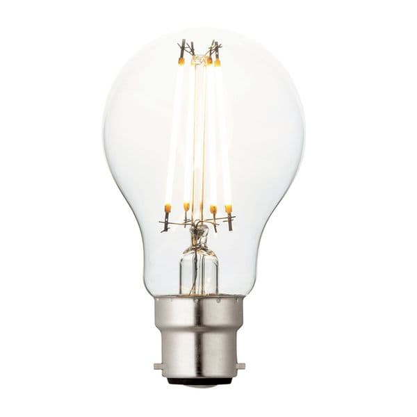 Saxby B22 LED Filament GLS Dimmable 7w 94345 By Massive Lighting
