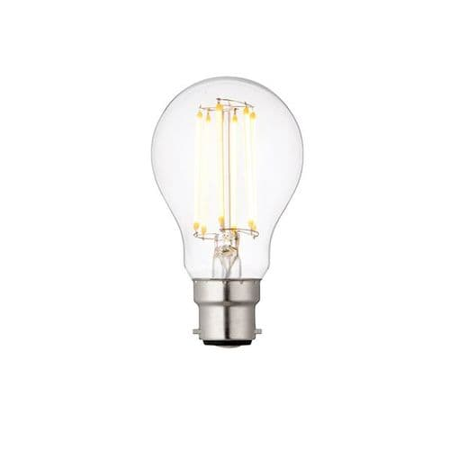 Saxby B22 LED Filament GLS Dimmable 8w Warm White 76800 By Massive Lighting
