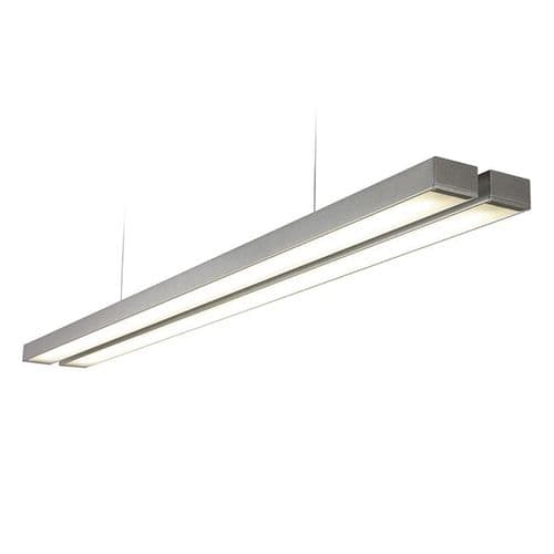 Saxby Borde Twin 26W Cool White Pendant 59996 By Massive Lighting