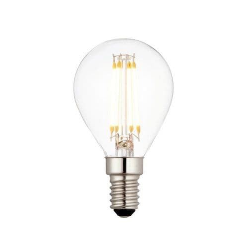 Saxby E14 LED Filament Golf 4w Warm White 94340 By Massive Lighting