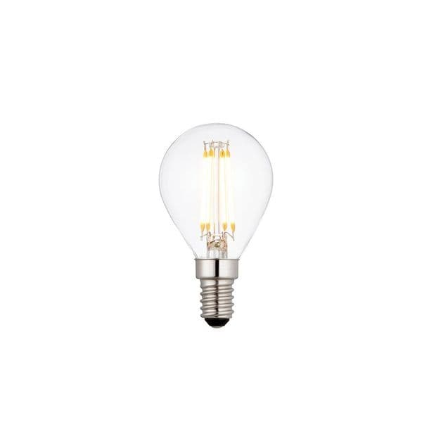 Saxby E14 LED Filament Golf Dimmable 4w Warm White 76797 By Massive Lighting