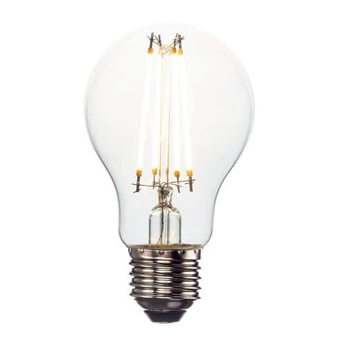 Saxby E27 LED Filament GLS 6w Warm White 9434 By Massive Lighting