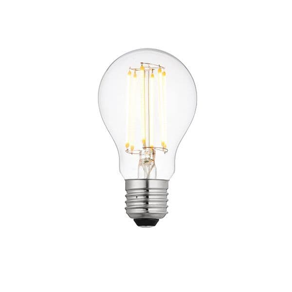 Saxby E27 LED Filament GLS Dimmable 8w Warm White 76799 By Massive Lighting
