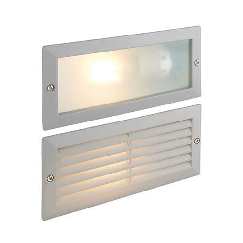 Saxby Eco Plain & Louvre IP44 40w 52213 By Massive Lighting