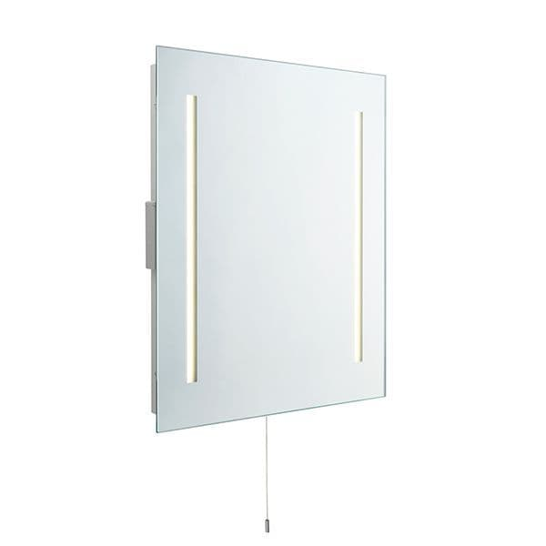 Saxby Glimpse Shaver Mirror IP44 4w SW Cool White 72360 By Massive Lighting