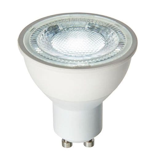 Saxby GU10 LED SMD 60 Degrees 7w Daylight White 74045 By Massive Lighting
